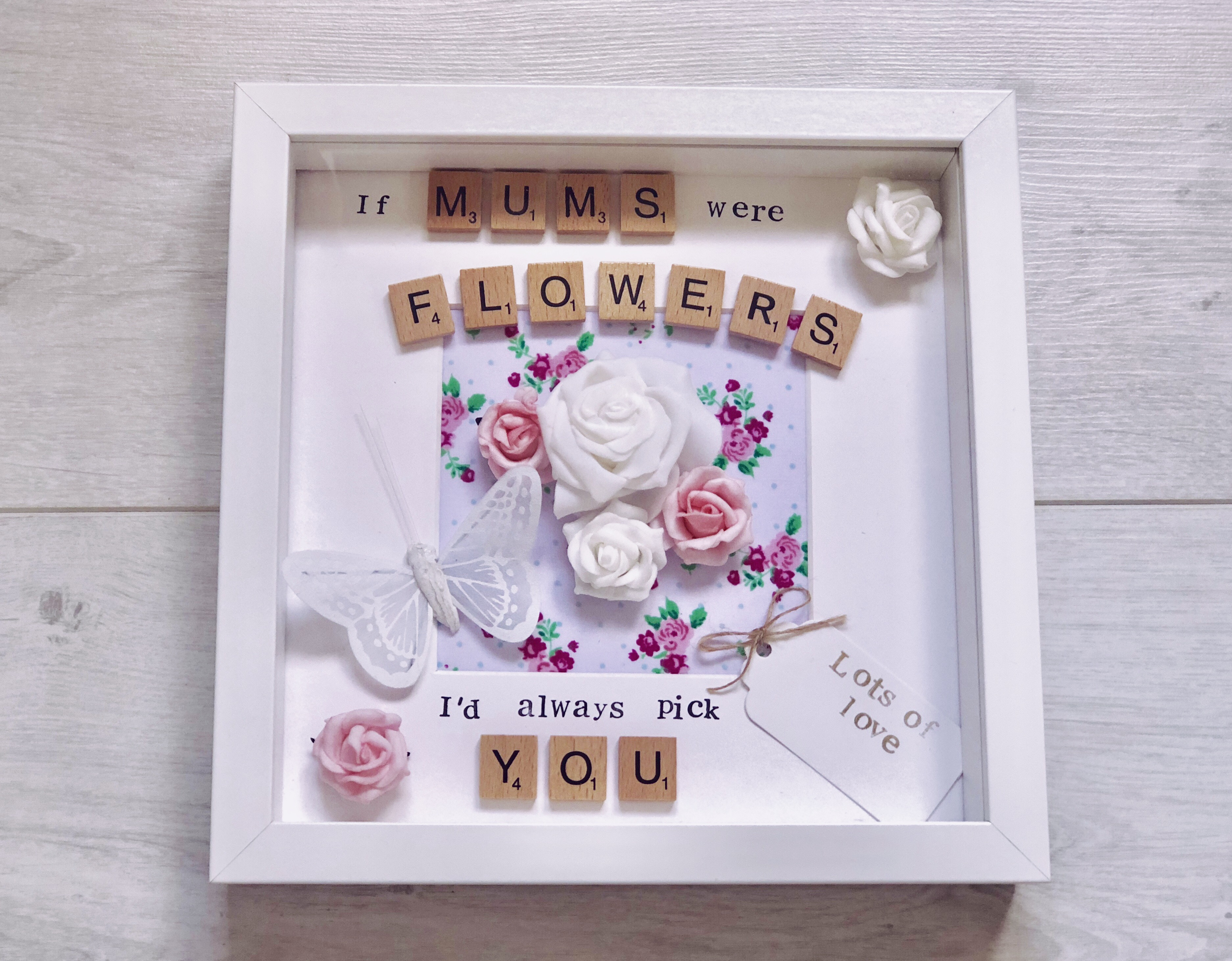Birthday Gift For Mum If Mums Were Flowers Keepsake Frame Personalised Gifts Mothers Ideas