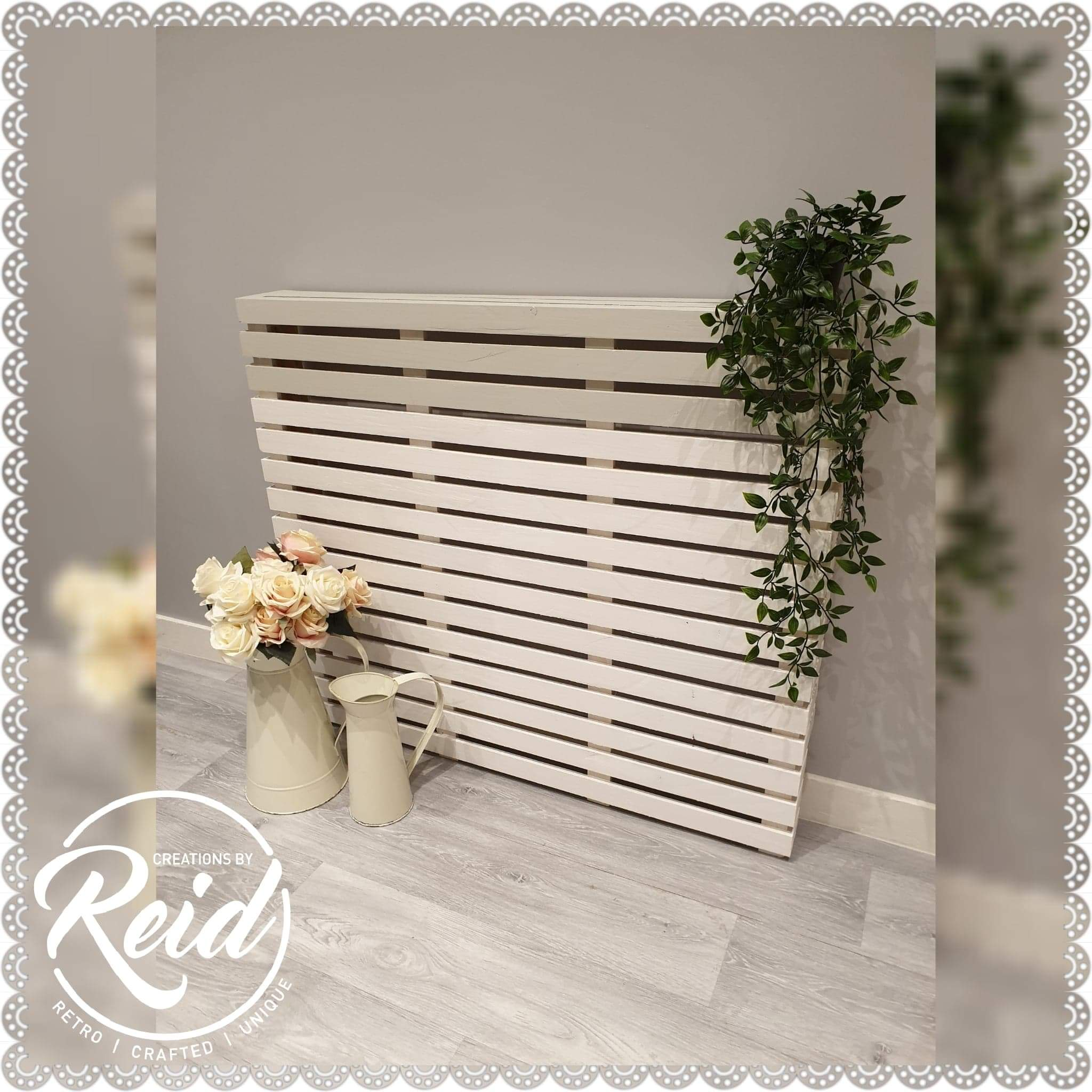 Small Medium Large Radiator Cover Horizontal Slats Numonday