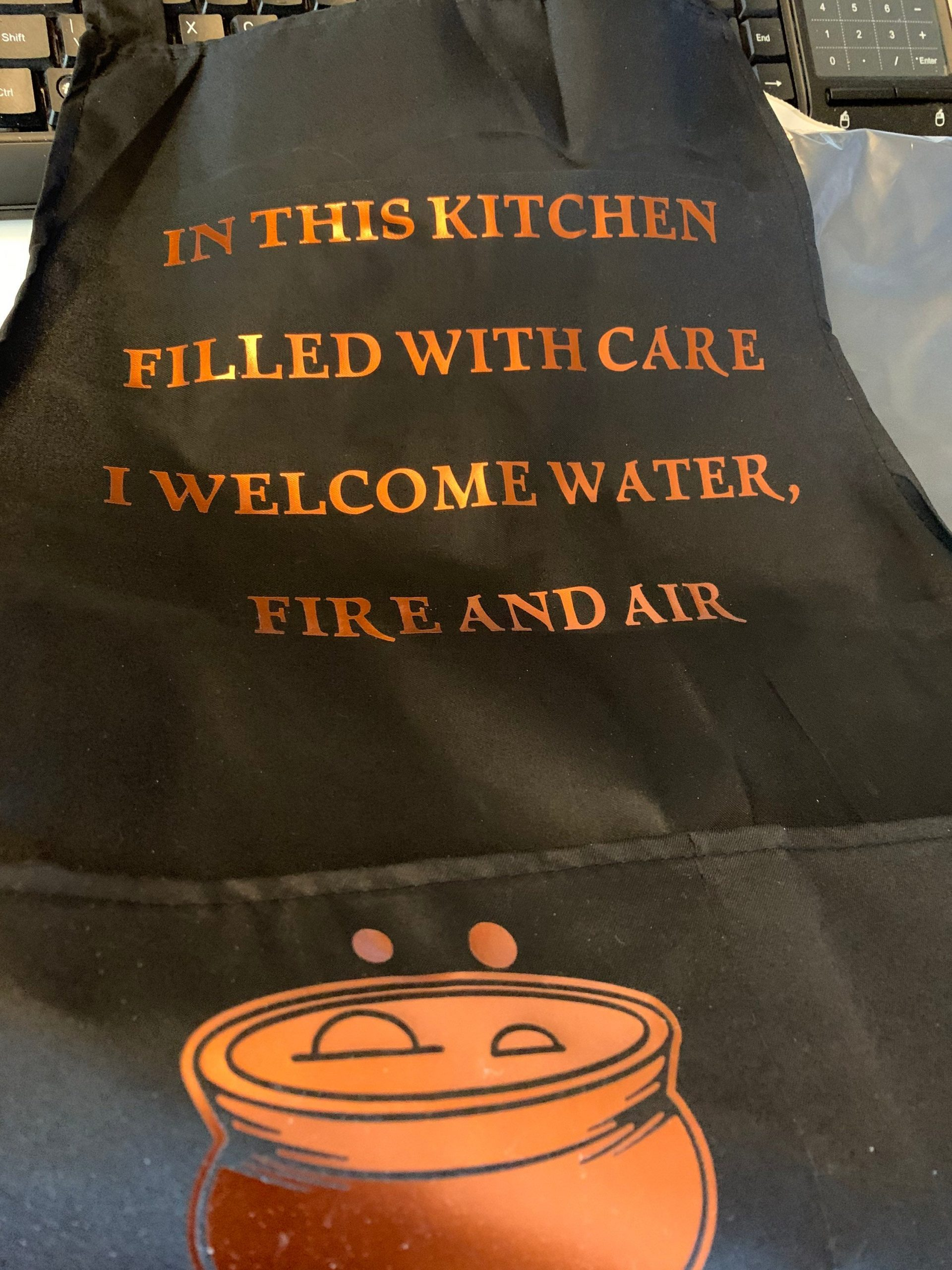 Kitchen Apron Kitchen Witch Wicca Pagan Cooking Spirituality Practical Magic Gifts Pagan Hedgewitch Numonday